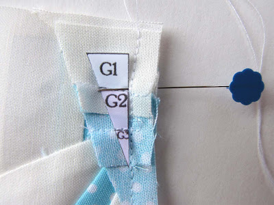 Piecing with Sewing Pins