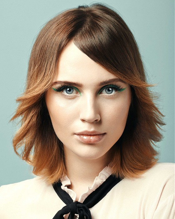 Corte de pelo en capas 2016