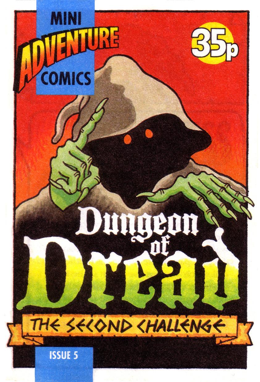 Mini Adventure Comics #5<br>Dungeon of Dread