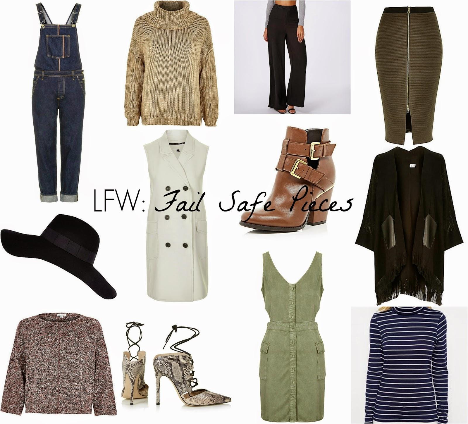 Mode Madeleine Fashion London Fashion Week Fail Safe Pieces A Guide To Lfw Style