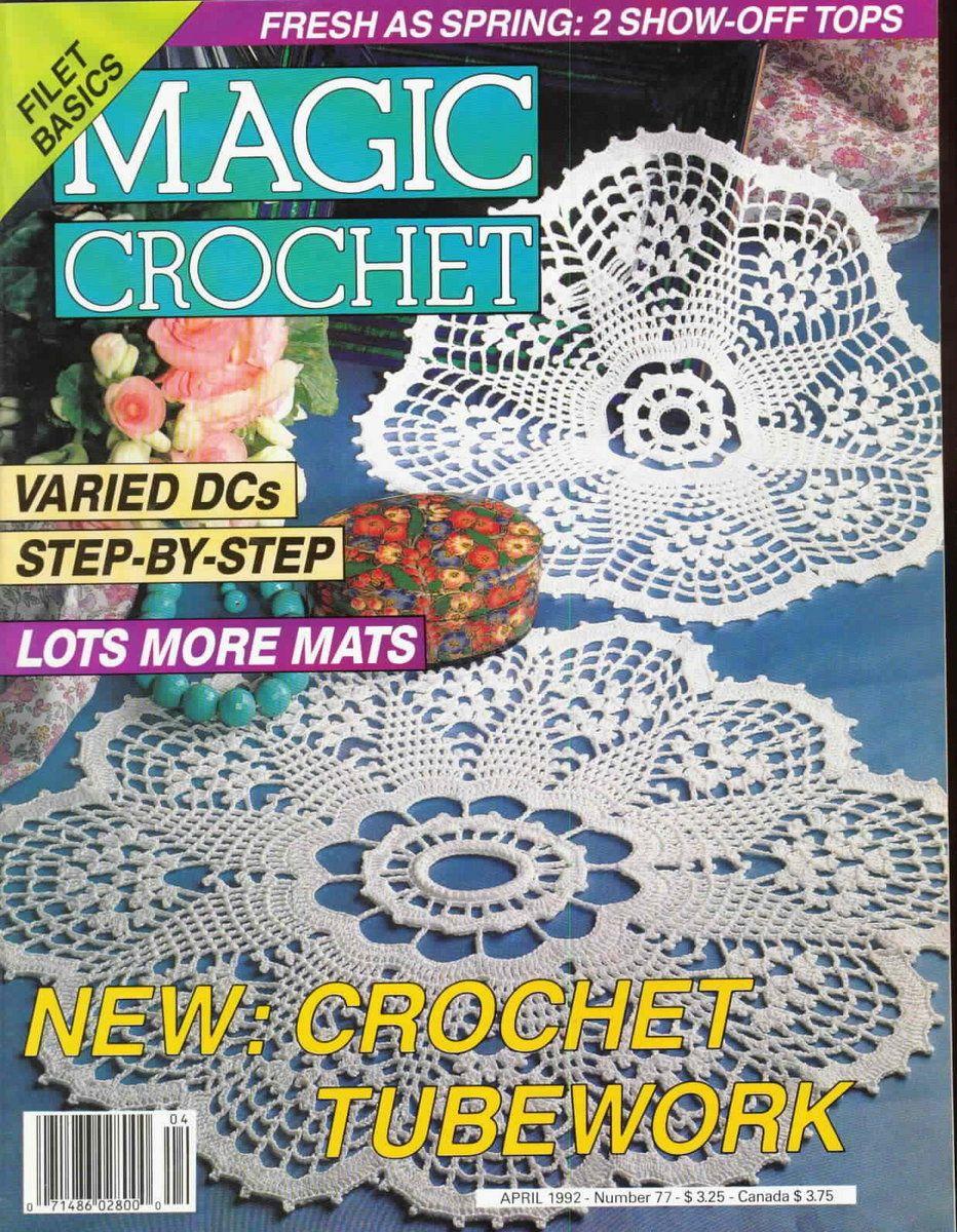 Magic Crochet : Magic Crochet No. 77