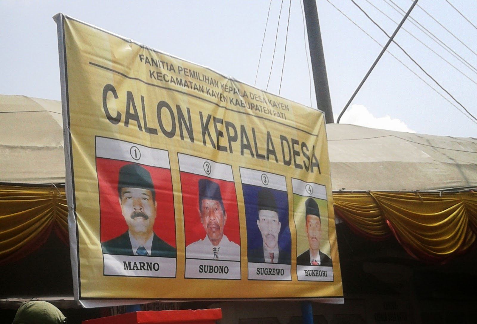 Hasil PILKADES Desa Kayen