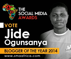 Vote Jide as Blogger of the year