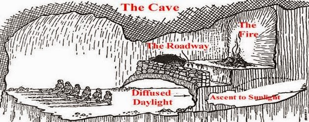 a dialogue on nature the allegory of the cave by plato The allegory of the cave socrates: next, said i [= socrates], compare our nature in respect of education and its lack to such an experience as this part one: setting the scene: the cave and the fire the cave socrates: imagine this: people live under the earth in a cavelike dwelling stretching a.