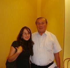 Con Carlos Talavera
