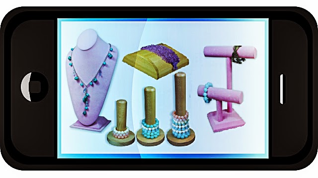 Jewelry display mobile
