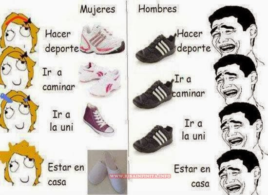 Hombres vs Mujeres