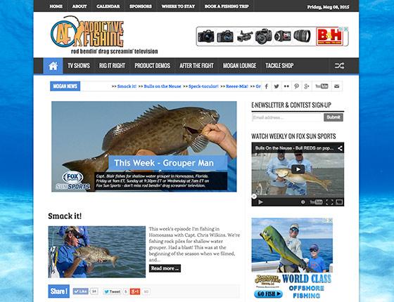 Visit Addictive Fishing Fansite