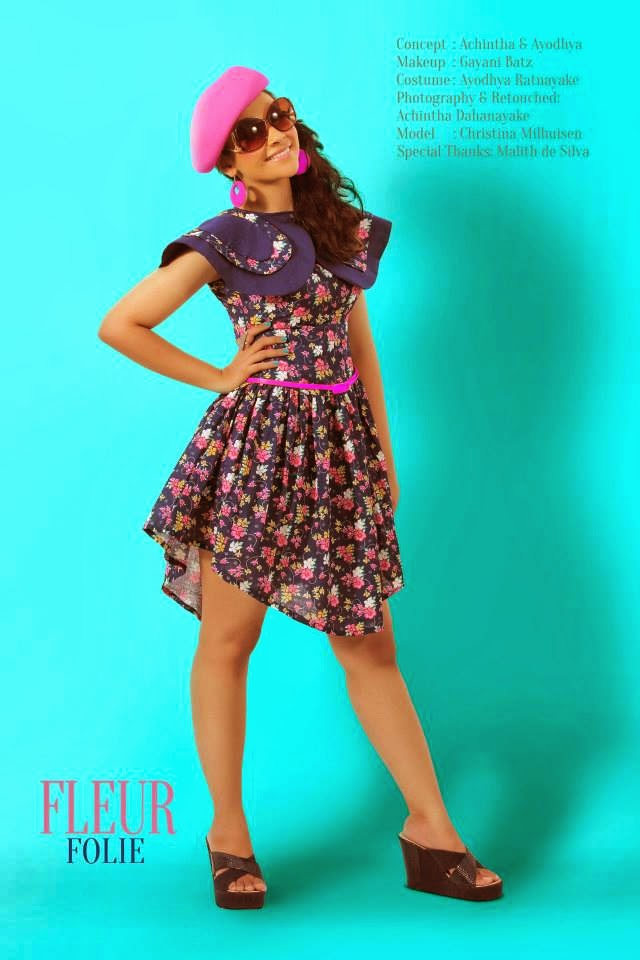 Christina Milhuisen short dress