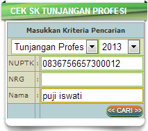 Cek SK Tunjangan Dikmen SMA SMK di http://ptkdikmen.kemdiknas.go.id/kemdikbud-klienkeu SK Cek img
