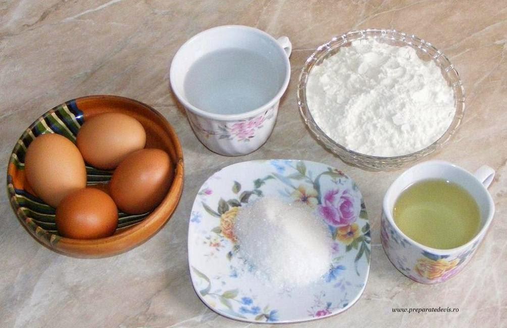 retete culinare de dulciuri si prajituri delicioase de casa ingrediente coji pentru ecler vienez,