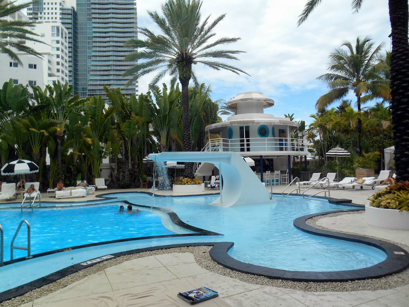 A rolling crone amalia 39 s art deco miami beach birthday - Palm beach swimming pool ...