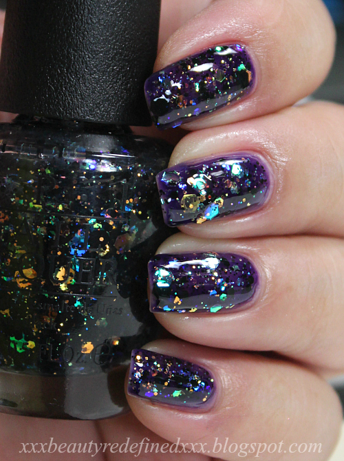 BeautyRedefined by Pang: OPI Comet In The Sky and Snowglobetrotter