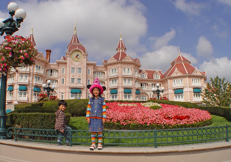 Disneyland Paris Flowers