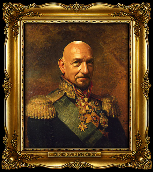 Sir Ben Kingsley - Replaceface