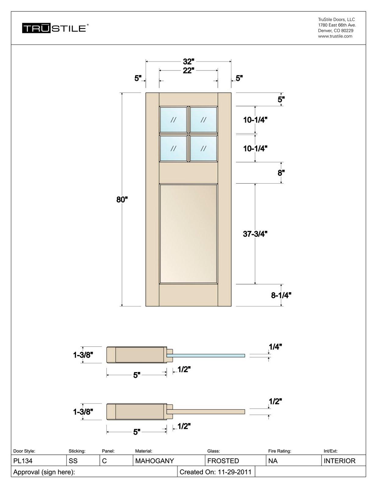Studio CrowleyHall, pllc: Design Your Own Door!