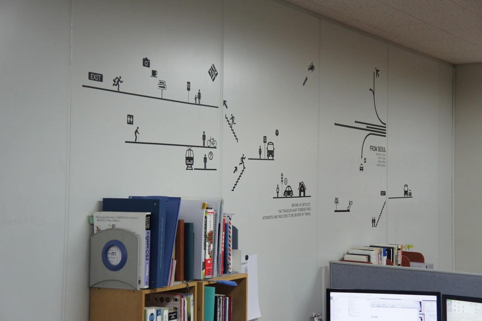 사무실 벽 디자인  369HOUSE