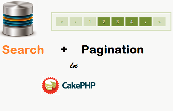 Search With Pagination in CakePHP