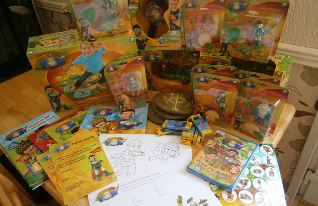 the new range of tree fu tom toys