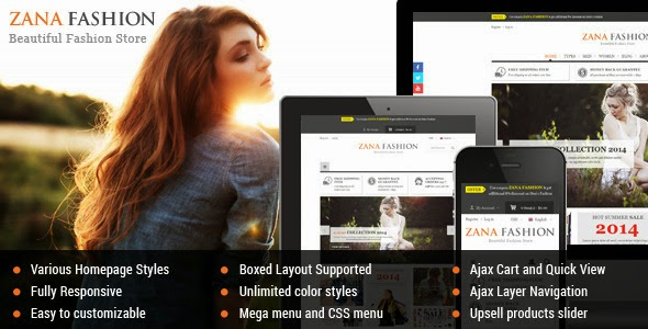 Best Premium Responsive Magento Fashion Theme
