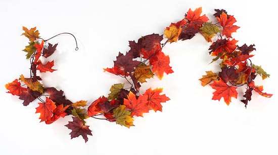Fall Garland on Pinterest Garlands, Fall Banner and Fall Burlap
