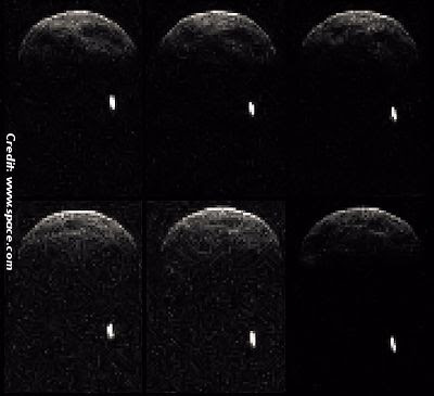 Giant Asteroid to Sail Past Earth Today 5-31-13