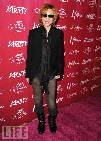 [Yoshiki] Yoshiki en Variety´s Power of Women 126261655
