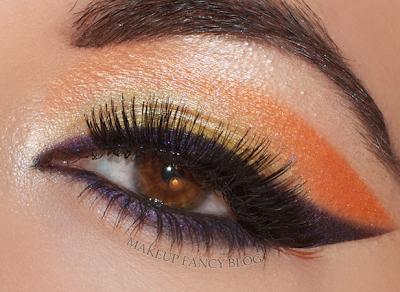 Makeup fancy purple wing makeup look for Wing eyecare