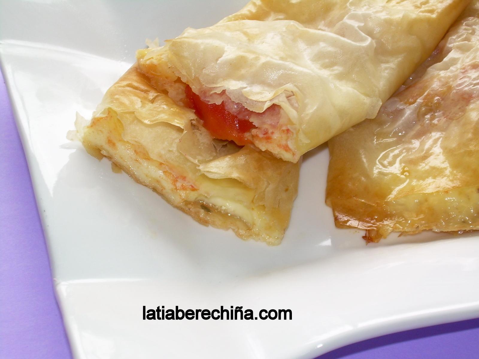 El blog de la tia berechi a pa uelos de pasta filo y - Que hacer con la pasta filo ...