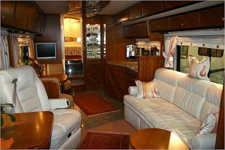 Dream travel industries autobuses de lujo - Interior caravana ...
