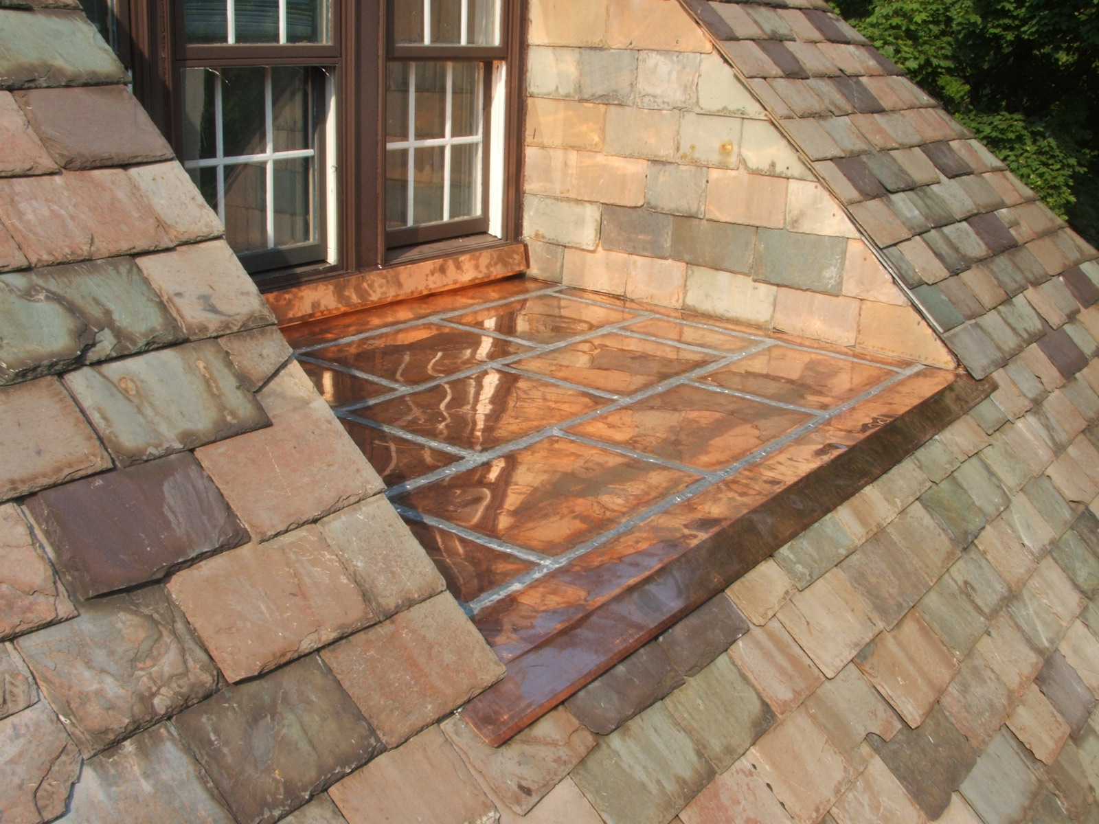 Its Not That It Looks Bad I Just Think Standing Seam Better Is All Now Copper Also Used In Gutters Typically A Slate And Tile Roof Follow Suit