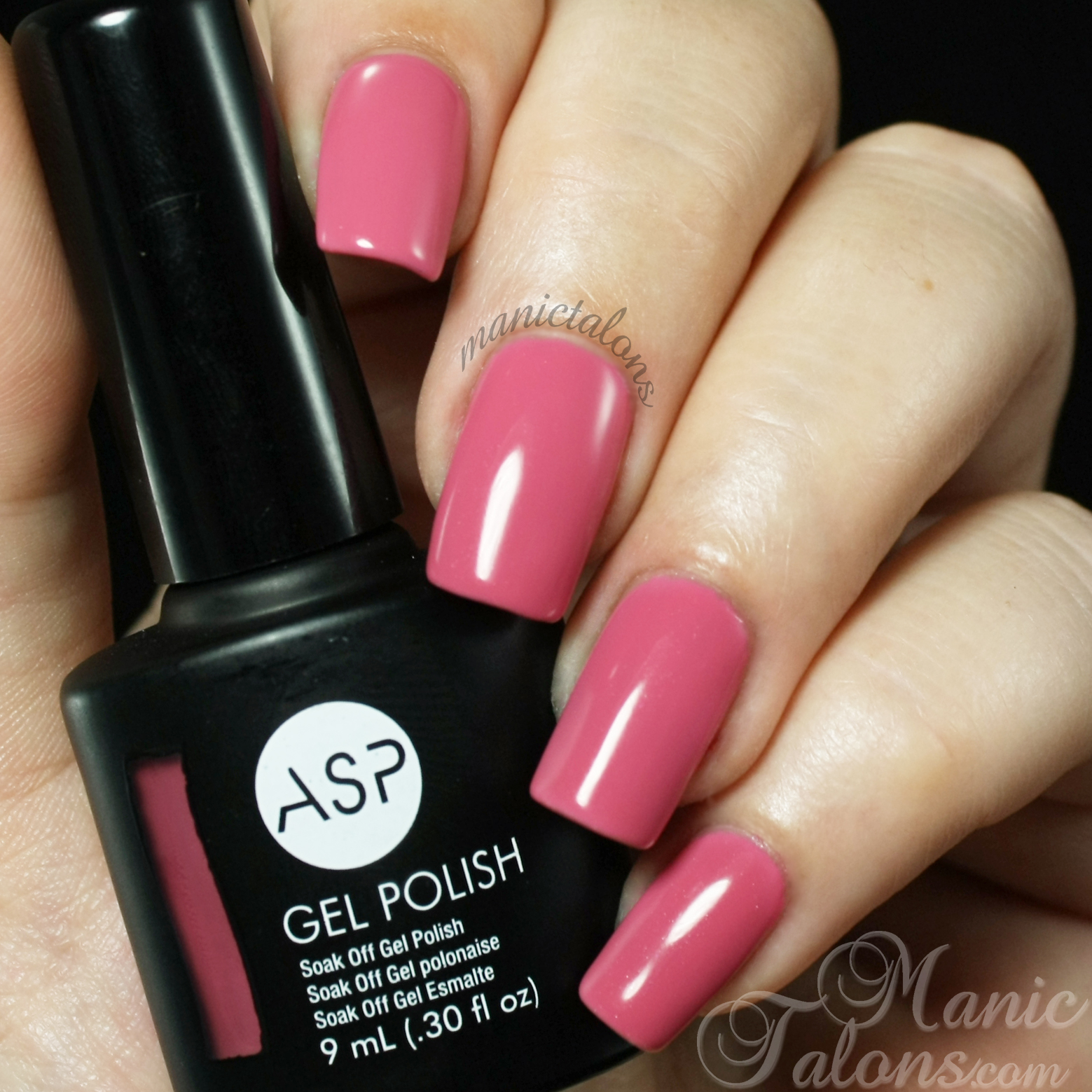 ASP Gel Polish Coral Cove Swatch