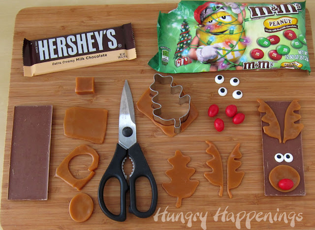 Edible Christmas Craft - Rudolph the Red Nose Reindeer ...