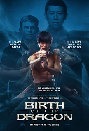 Poster Of Birth of the Dragon 2016 In Hindi Bluray 720P Free Download
