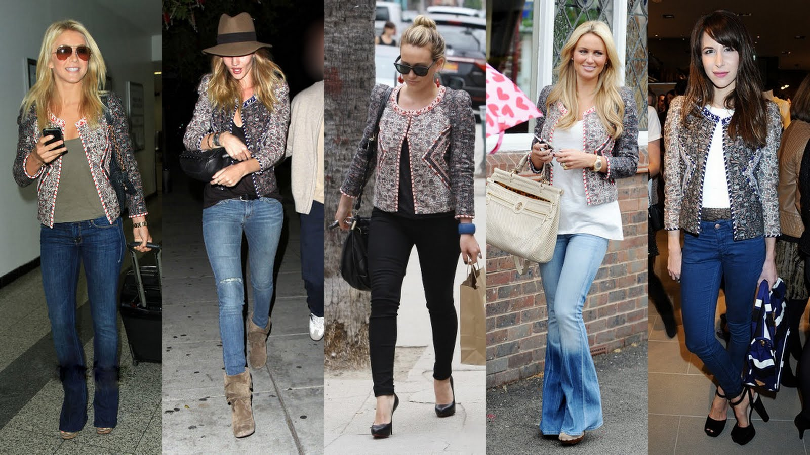 6042dfc4bccb Country singer Julianne Hough wore it with an army green tee