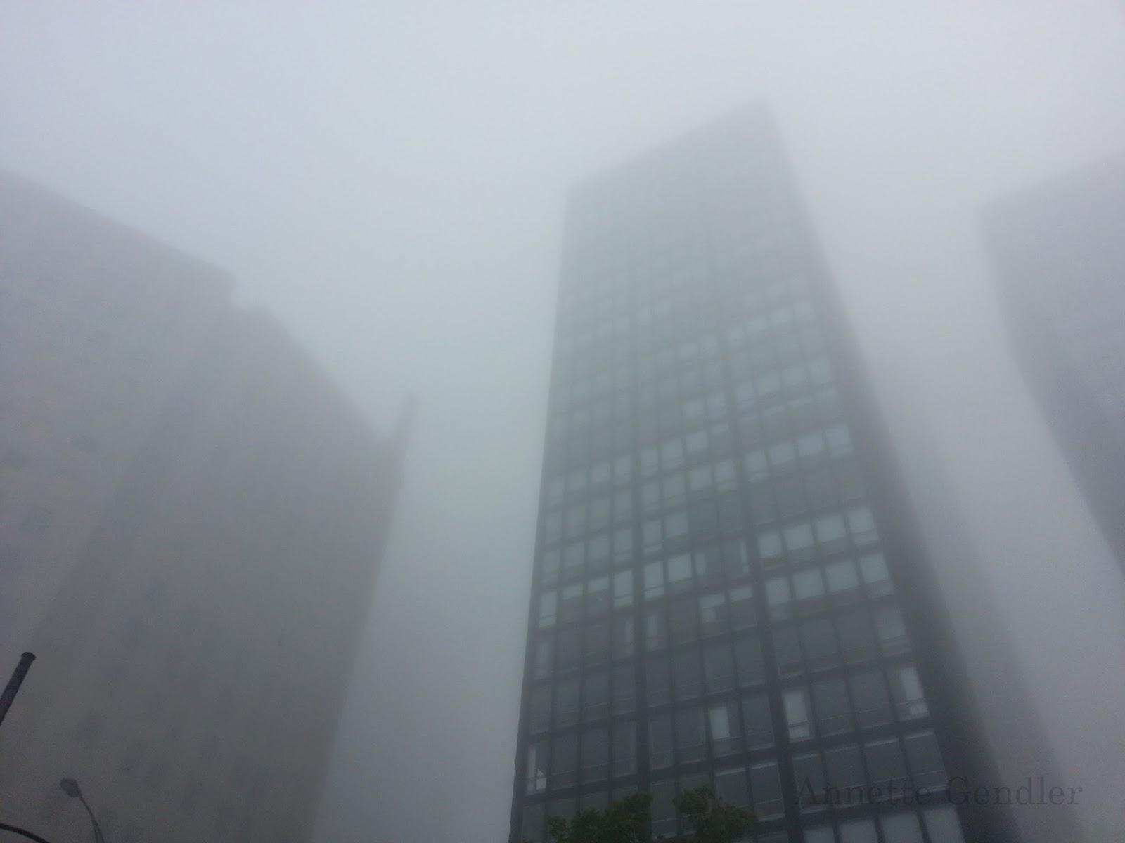 Annette Gendler: Fog on Lake Shore Drive