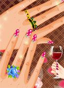 Очаровательный маникюр - Онлайн игра для девочек