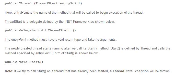 real world example or live code for multithreaded program in C # sharp