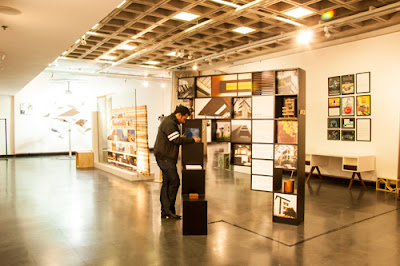 Bookshelf - Exhibition Design by Amit Khanna Design Associates (AKDA)