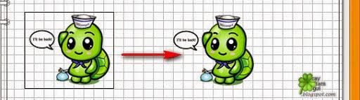 Bỏ đường viền ảnh khi chèn hình vào blog