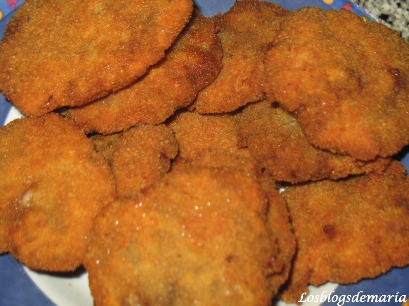 Filetes Rusos con queso