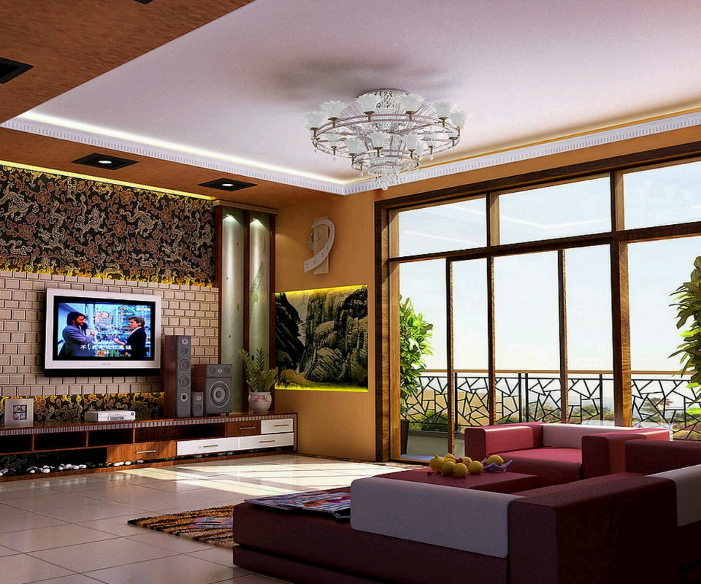 5 Contemporary Living Room Ideas 2014 | Home Design HD Wallpapers