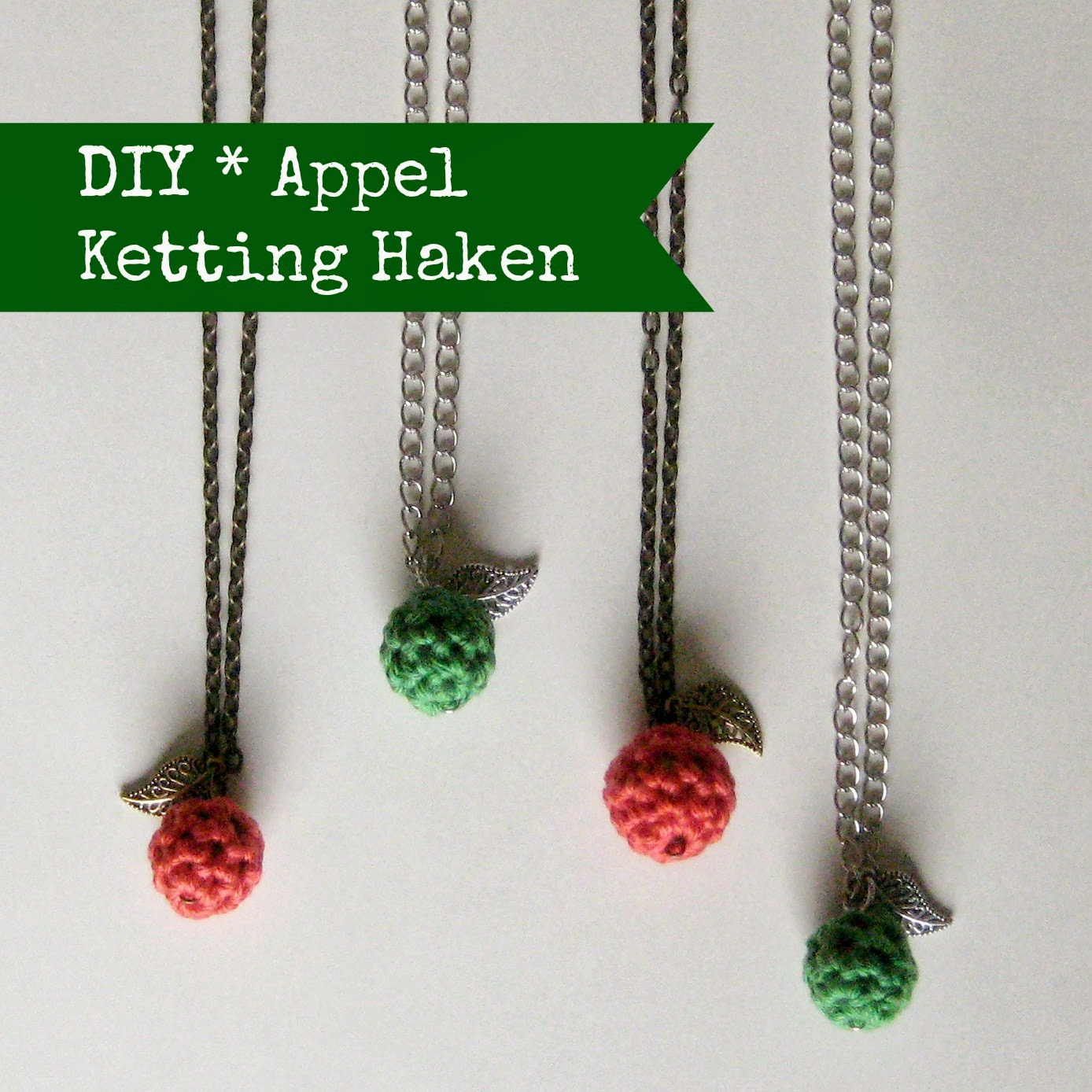 By Miekk Tutorial Appel Ketting Haken