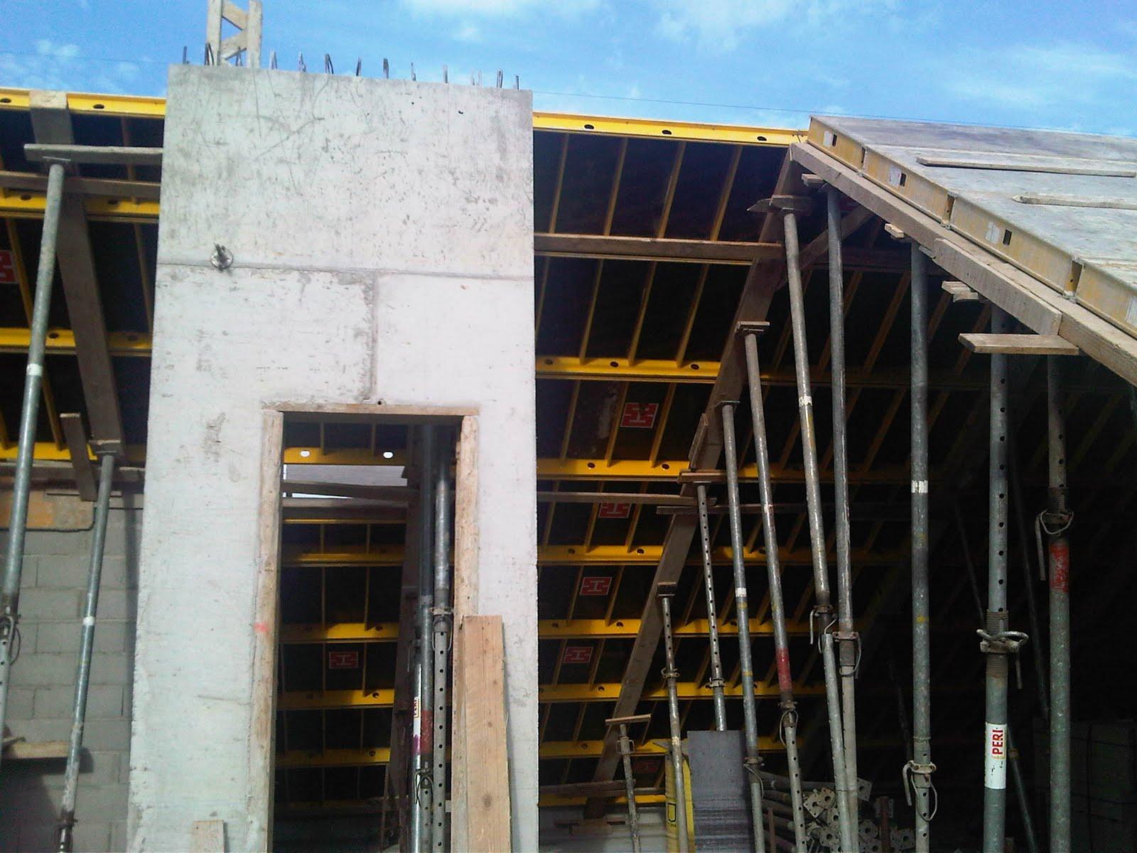 Construction Maison Suite Des Travaux De Coffrage De La