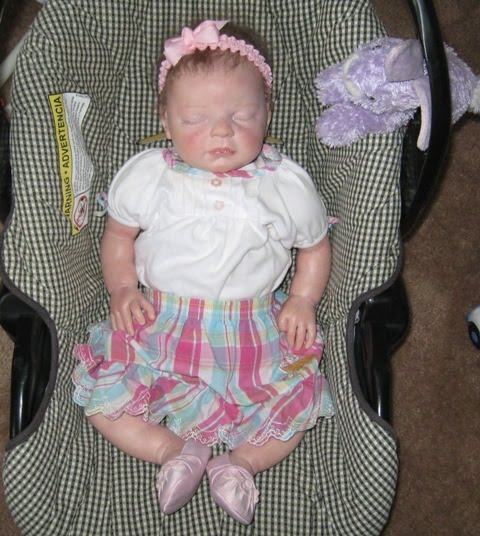 Cindybin Reborn Doll Becky Garage Sale Fashion Show