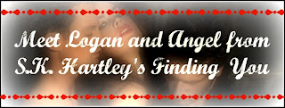 Pre-Release Blog Tour – Character Interview with Logan and Angel from Finding You by S.K. Hartley
