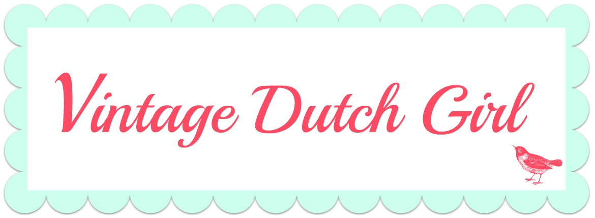 Vintage Dutch Girl