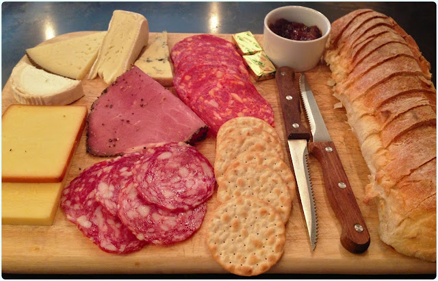 Brewdog Manchester - Meat and Cheese Platter