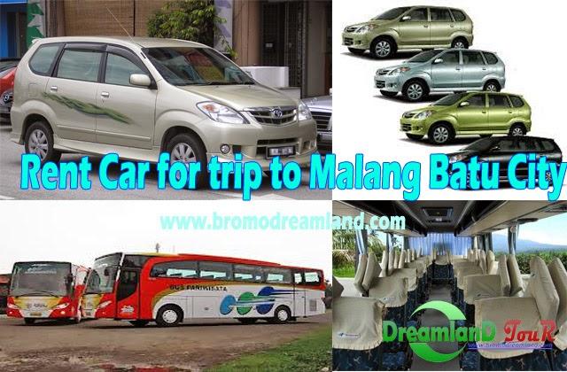 Rent Car for trip to Malang Batu City