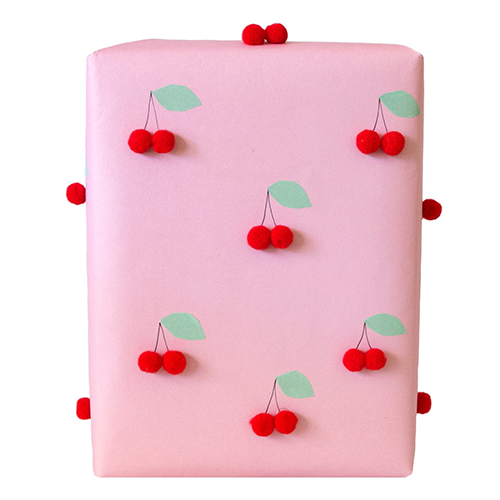 Cheerful Cherry Wrap by Love. Luck. Kisses & Cake | LLK-C.com